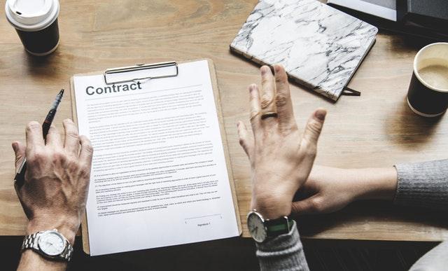 Bukti Kontrak dan Bukti Perjanjian